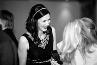 Surrey Wedding Photography - Woldingham Golf Club- bridesmaid black and white