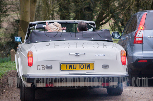 Leaving in style  by Surrey Wedding Photographer - beautiful wedding photos