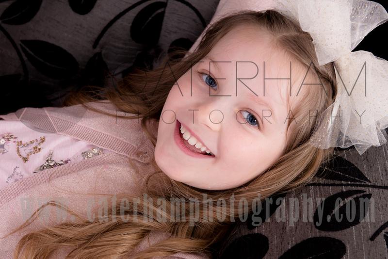 Surrey portrait photographer- little girl