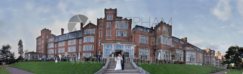 Surrey Photography wedding family portrait panoramic 02