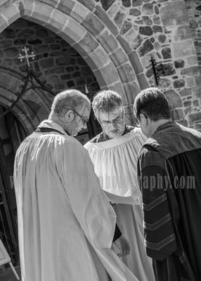Surrey Wedding photographer /St Mary Church /  The priests at St Mary Church / Surrey Wedding photographer