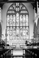 Horsham wedding photography wedding in Horsham St Mary Church inside