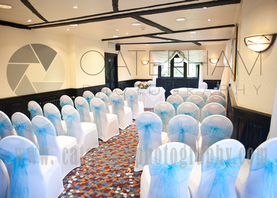 Surrey wedding photographer /Legacy Thatchers Hotel Wedding the ceremony room  (6)