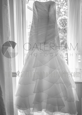 Surrey wedding Photographer- Farleigh Golf Course- stunning Wedding dress