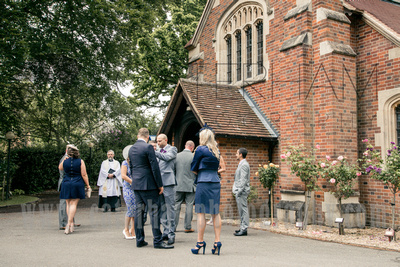 St Andrews Church Wedding in Frimley Green