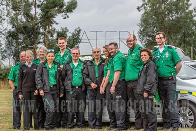 surry photographer- The Caterham Rotary Half Marathon & 10K- paramedics in group