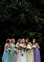 Surrey wedding photographer- bridesmaid portraits - miss to mrs