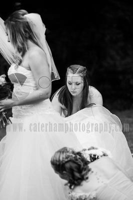 bridesmaid portraits