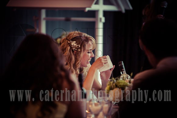 Surrey wedding photographer- brooklands hotel-  wedding guests