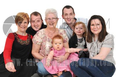 Family Portrait Photographer-  Surrey photographer - Great family portrait Grandma gift