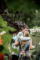 surrey party photographer- themed party- loving couple-