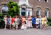 Surrey wedding photographer / Morden Park House Wedding (8) /  Wedding group photograph