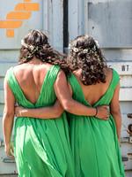 surrey wedding photography- Kingston county hall- bridesmaids