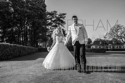 Woodcote Park Golf Club wedding