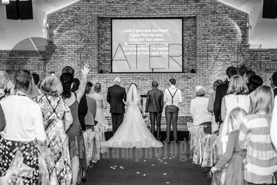 Reigate Baptist Church wedding