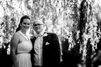surrey wedding photographer- leatherhead registry office- bride and groom