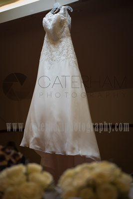 Surrey Wedding Photographer-  weald of kent golf club weddings, amazing, unique wedding dress
