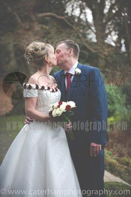 Surrey wedding Photographer- The High Rocks wedding at Tunbridge Wells Kent- Bride and groom portrait