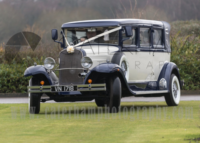 Surrey Wedding Photographer- Warlingham Farleigh Golf Club- Amazing wedding car