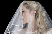 close up bridal shoot