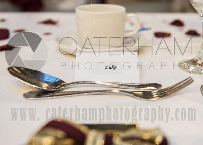 Surrey Wedding Photographer-  Reigate manor hotel- detail shot