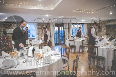 Surrey wedding Photographer- The High Rocks wedding at Tunbridge Wells Kent- festive wedding room