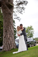 surrey wedding photographer- Crowhurst Park Wedding East Sussex- happy bride and groom