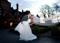 surrey wedding photographer- woodlands park hotel- bride and groom