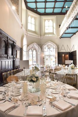 Surrey Wedding Photographer- Wedding ceremony Chiddingston Castle- inside the traditional wedding reception