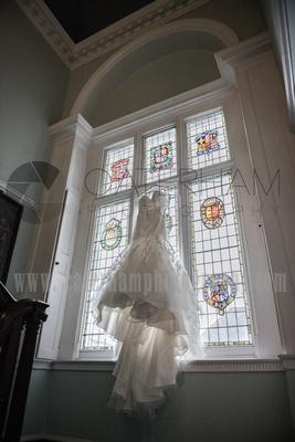 Surrey Wedding Photographer- Chiddingstone Castle- Wedding dress