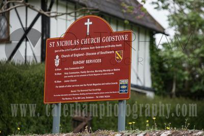 Surrey Wedding Photographer- St Nicholas Church Godstone- Perfect Venue for Church Wedding