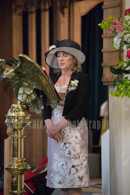 Surrey Wedding Photographer- St Nicholas Church Godstone- Mother of the Bride at Traditional Church Wedding