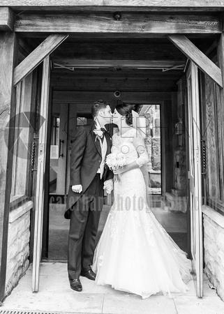 st bartholomew's church wedding otford-Wedding ceremony finished