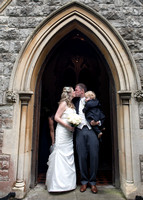 Surrey Wedding Photographer, All Saints Kenley Wedding, Family