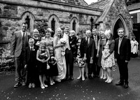 Surrey Wedding Photography, All Saints Kenley Wedding, Family Wedding Picture