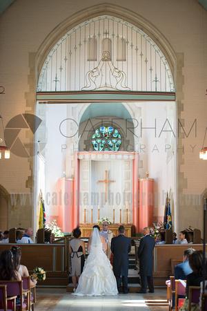 St Mildred's Parish Croydon Wedding, London Wedding Photographer, London Wedding Church