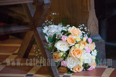 Sussex Wedding Photographer, Sussex Wedding Venue, St Peter's Church Firle, Wedding Bouquet, Church Wedding