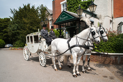Surrey Wedding Photographer, Surrey Wedding Venue, Coulsdon Manor, Wedding Transport