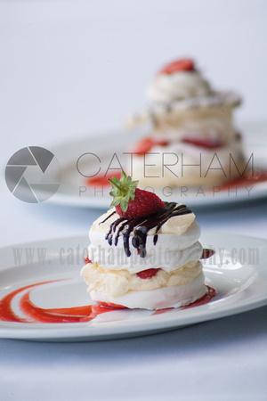 Surrey Wedding Venue, Surrey Wedding Photographer, Surrey Wedding Videographer,  Wedding Breakfast Dessert