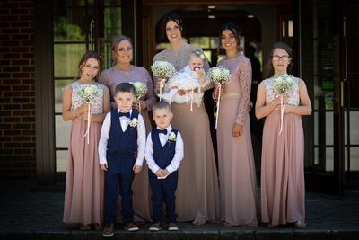 Surrey Wedding Photographer- Wedding ceremony at westerham golf club- Bride's Flower's