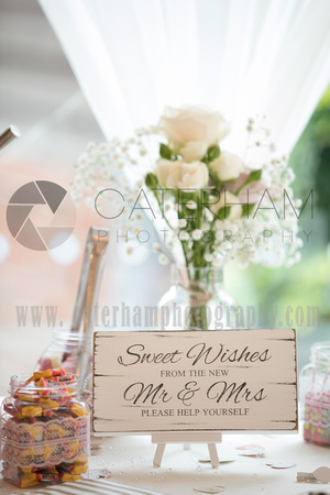 Surrey wedding photographer Coltsford Mill Wedding Oxted, Wedding Sweets