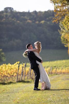 Surrey wedding photographer Denbies Wine Estate Dorking Wedding
