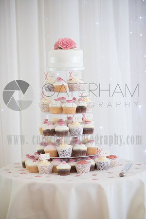 Surrey wedding photographer Coltsford Mill Wedding Oxted, Wedding Cake