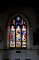 Stained Glass Window, St Mary the Virgin, Bletchingley Weddings, Surrey Wedding Photographer