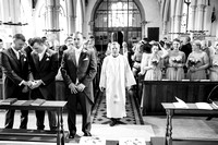 Wedding Ceremony, Guests, St Mary the Virgin, Surrey Wedding Photographer, Wedding Photography