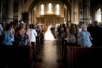 Ceremony, St Mary the Virgin, Bletchingley Weddings, Surrey Wedding Photographer, Wedding Photograph