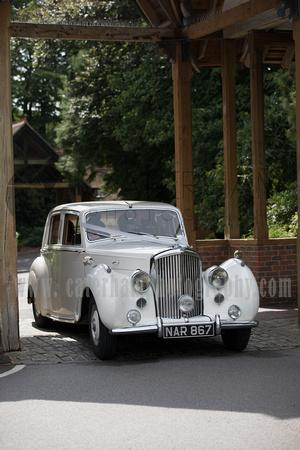 Wedding Car arrives, Pennyhill Park, Surrey Wedding Photographer, Hotel Wedding Photographer, Wedding Photography