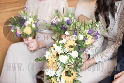 Wedding Ceremony, Bridesmaids, Wedding Bouquet, Bridesmaid Bouquets, Pennyhill Park, Surrey Wedding Photographer, Hotel Wedding Photographer, Wedding Photography