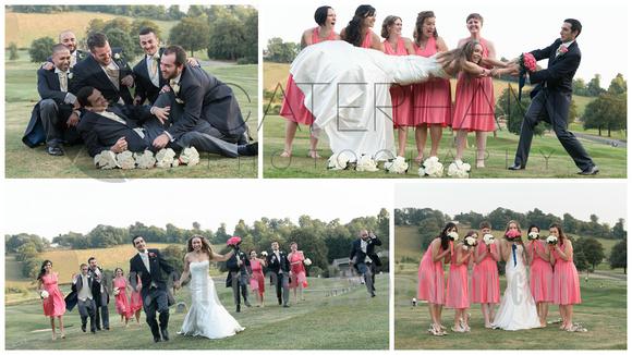 Surrey wedding photographer- woldingham golf club- beautiful college