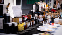 Surrey photographer - food photography / Spices and sauces display